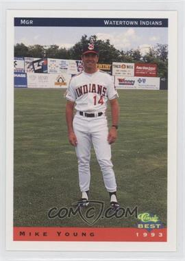 1993 Classic Best Watertown Indians - [Base] #29 - Mike Young