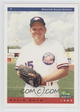 1993 Classic Best Winston-Salem Spirits - [Base] #21 - Kevin Shaw