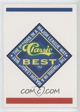 1993 Classic Best Winston-Salem Spirits - [Base] #30 - Checklist