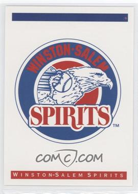 1993 Classic Best Winston-Salem Spirits - [Base] #N/A - Winston-Salem Spirits Team