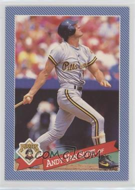 1993 Continental Baking Hostess Baseballs - [Base] #1 - Andy Van Slyke
