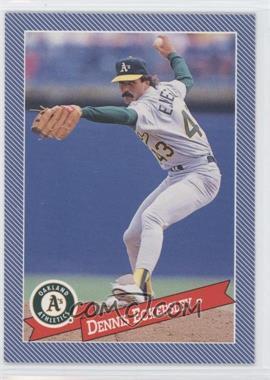1993 Continental Baking Hostess Baseballs - [Base] #11 - Dennis Eckersley
