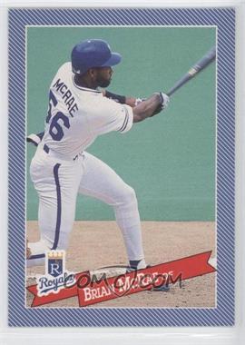 1993 Continental Baking Hostess Baseballs - [Base] #12 - Brian McRae