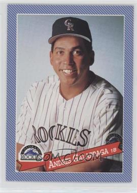 1993 Continental Baking Hostess Baseballs - [Base] #18 - Andres Galarraga
