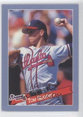 1993 Continental Baking Hostess Baseballs - [Base] #22 - Tom Glavine