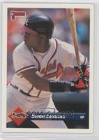 Deion Sanders Baseball Cards Matching 1993 Donruss 158 Deion Sanders