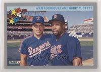 Ivan Rodriguez, Kirby Puckett [Noted]