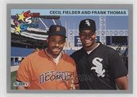 Cecil Fielder, Frank Thomas