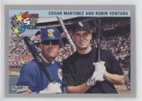 Edgar Martinez, Robin Ventura