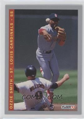 1993 Fleer Final Edition - [Base] #F-131 - Ozzie Smith