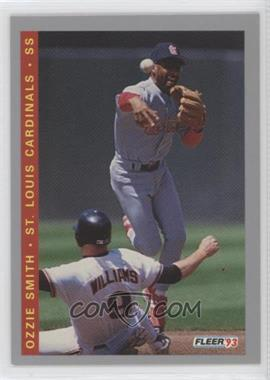 1993 Fleer Final Edition - [Base] #F-131 - Ozzie Smith