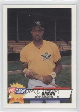 1993 Fleer ProCards Carolina League All-Star Game - [Base] #CAR-46 - Mike Brown