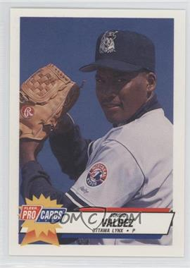 1993 Fleer ProCards Minor League - [Base] #2436 - Sergio Valdez