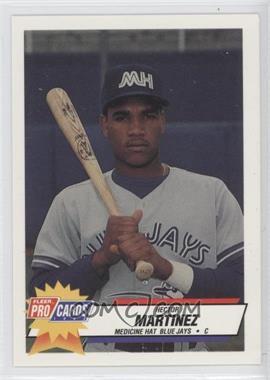 1993 Fleer ProCards Minor League - [Base] #3739 - Hector Martinez