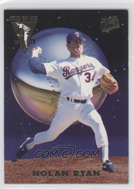 1993 Fleer Ultra - Strike Out Kings #4 - Nolan Ryan