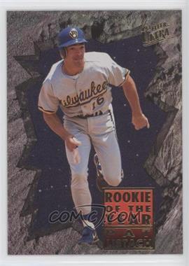 1993 Fleer Ultra Top Gloves 19 Pat Listach Comc Card