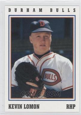 1993 Herald-Sun Durham Bulls - [Base] #21 - Kevin Lomon
