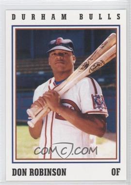 1993 Herald-Sun Durham Bulls - [Base] #32 - Don Robinson