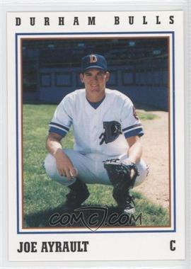1993 Herald-Sun Durham Bulls - [Base] #33 - Joe Ayrault