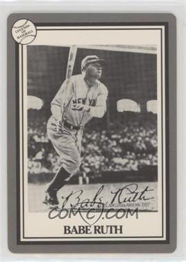 1993 Hoyle Legends of Baseball - [Base] #BARU - Babe Ruth