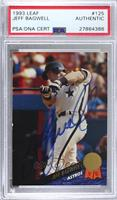 Jeff Bagwell [PSA Authentic PSA/DNA Cert]