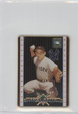 1993 Metallic Impressions Cooperstown Collection - Collector's Tin [Base] #3 - Yogi Berra