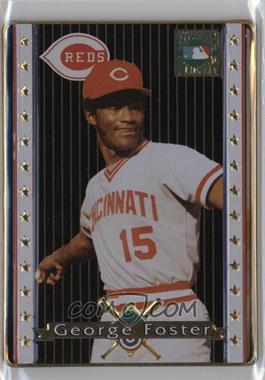 1993 Metallic Impressions Cooperstown Collection - Collector's Tin [Base] #9 - George Foster