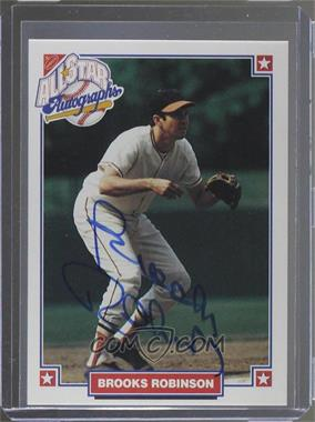 1993 Nabisco All-Star Autographs - [Base] - [Autographed] #BRRO - Brooks Robinson