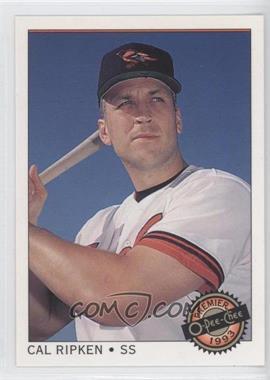 1993 O-Pee-Chee Premier - [Base] #125 - Cal Ripken Jr.