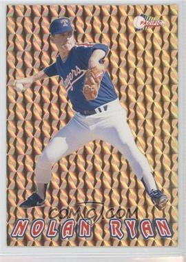 1993 Pacific Nolan Ryan Texas Express 27 Seasons - Prisms - Gold #16 - Nolan Ryan