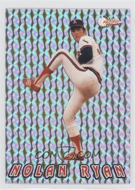 1993 Pacific Nolan Ryan Texas Express 27 Seasons - Prisms #4 - Nolan Ryan
