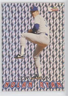 1993 Pacific Nolan Ryan Texas Express 27 Seasons - Prisms #9 - Nolan Ryan