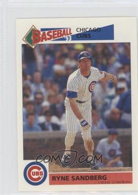 1993 Panini Album Stickers - [Base] #204 - Ryne Sandberg