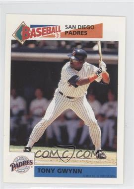 1993 Panini Album Stickers - [Base] #262 - Tony Gwynn