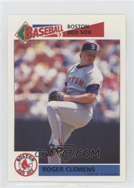 1993 Panini Album Stickers - [Base] #90 - Roger Clemens