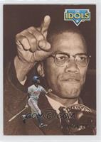 Delino DeShields, Malcolm X