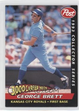1993 Post - Food Issue [Base] #25 - George Brett