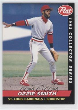 1993 Post - Food Issue [Base] #26 - Ozzie Smith