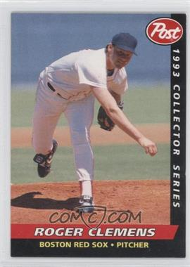 1993 Post - Food Issue [Base] #4 - Roger Clemens