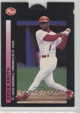 1993 Post Canadian Pop-Ups - Food Issue [Base] #17 - Ozzie Smith
