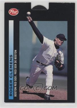 1993 Post Canadian Pop-Ups - Food Issue [Base] #3 - Roger Clemens