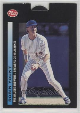 1993 Post Canadian Pop-Ups - Food Issue [Base] #6 - Robin Yount