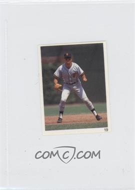 1993 Red Foley's Best Baseball Book Ever Stickers - [Base] #19 - Will Clark