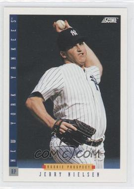 1993 Score - [Base] #268 - Jerry Nielsen