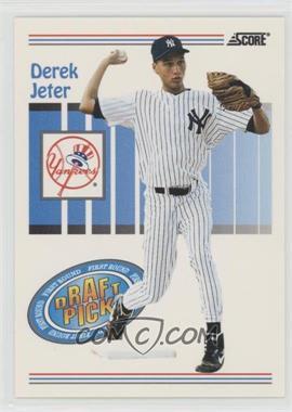 1993 Score - [Base] #489 - Derek Jeter