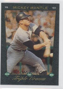 1993 Score Select - Triple Crown #1 - Mickey Mantle
