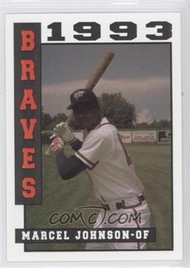 1993 Sport Pro Idaho Falls Braves - [Base] #13 - Marcel Johnson