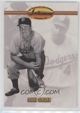 1993 Ted Williams Card Company - [Base] #16 - Duke Snider