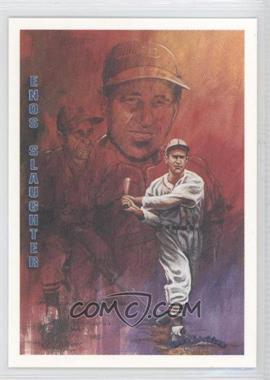 1993 Ted Williams Card Company - Gene Locklear Collection #LC7 - Enos Slaughter