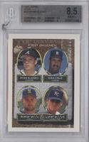 Ryan Klesko, Ivan Cruz, Bubba Smith, Larry Sutton [BGS 8.5]